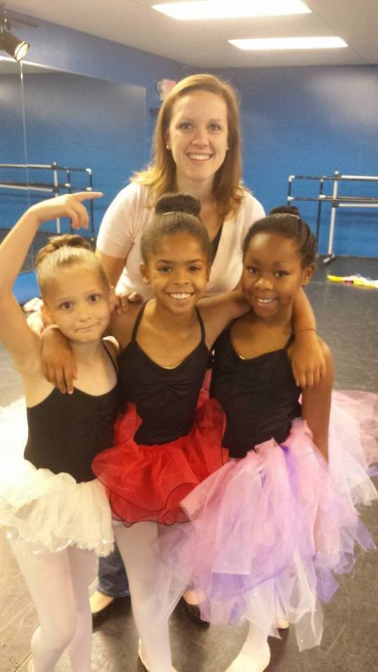 Ms. Amanda and 3 of her sweet ballerinas visited MJ Library today for storytime!